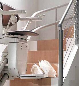 Solus 260 - Ανελκυστήρας περιστροφικής σκάλας, Αισθητήρες ασφάλειας