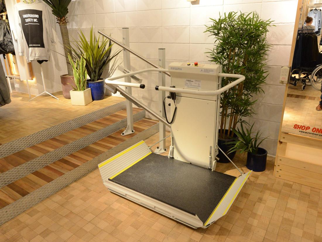 Ανελκυστήρας πλατφόρμας DELTA - Draculis