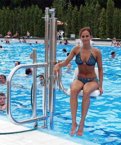 Ανελκυστήρας πισίνας - Pool Lift - Draculis