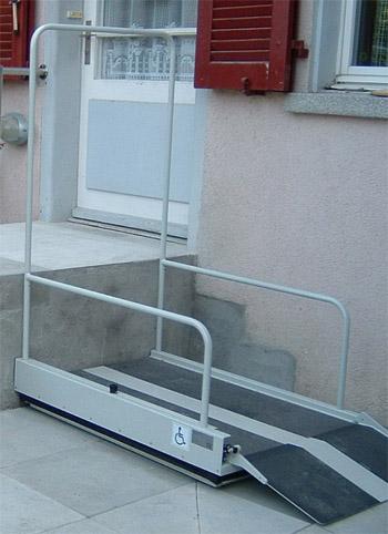 Ανελκυστήρας πλατφόρμας Omega 1 & 2
