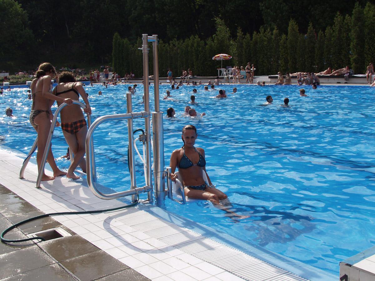 Ανελκυστήρας πισίνας - Pool lift