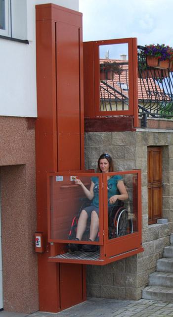 Ανελκυστήρας πλατφόρμα κάθετης κίνησης – Alpin - by Draculis