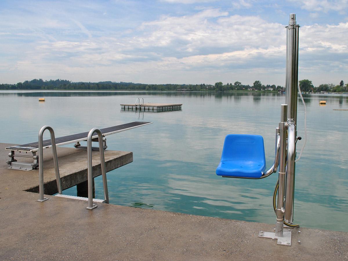 Pool Lift: απολαύστε το κολύμπι σε κάθε πισίνα! - Draculis