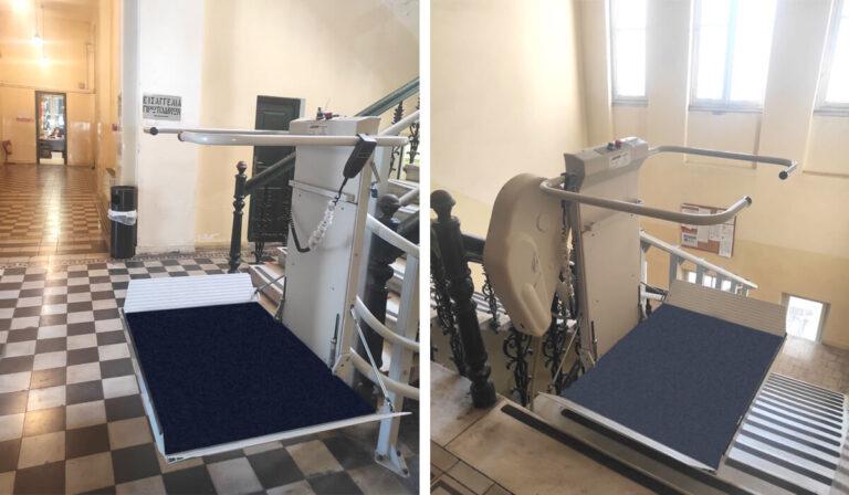 Εγκατάσταση πλατφόρμας στο Δικαστικό μέγαρο Ναυπλίου! - draculis.gr