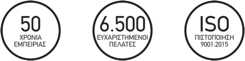 6500 εγκαταστάσεις ανελκυστήρων σκάλας, 50 χρόνια εμπειρίας, πιστοποίησης ISO