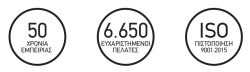 6650 εγκαταστάσεις ανελκυστήρων σκάλας, 50 χρόνια εμπειρίας, πιστοποίησης ISO